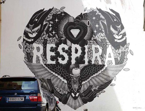 Ruta de arte callejero enMalasaña