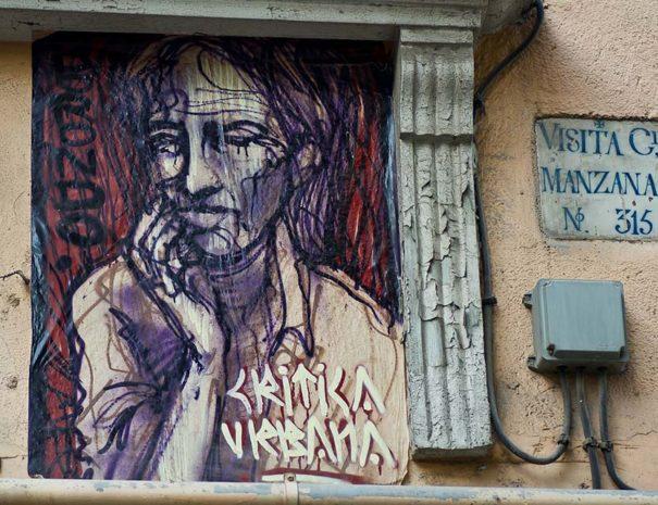 Tour de arte callejero Malasaña
