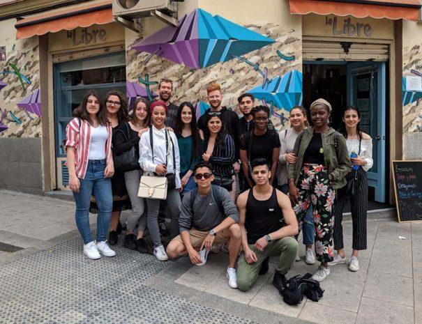 Excursiones escolares de grupos extranjeros