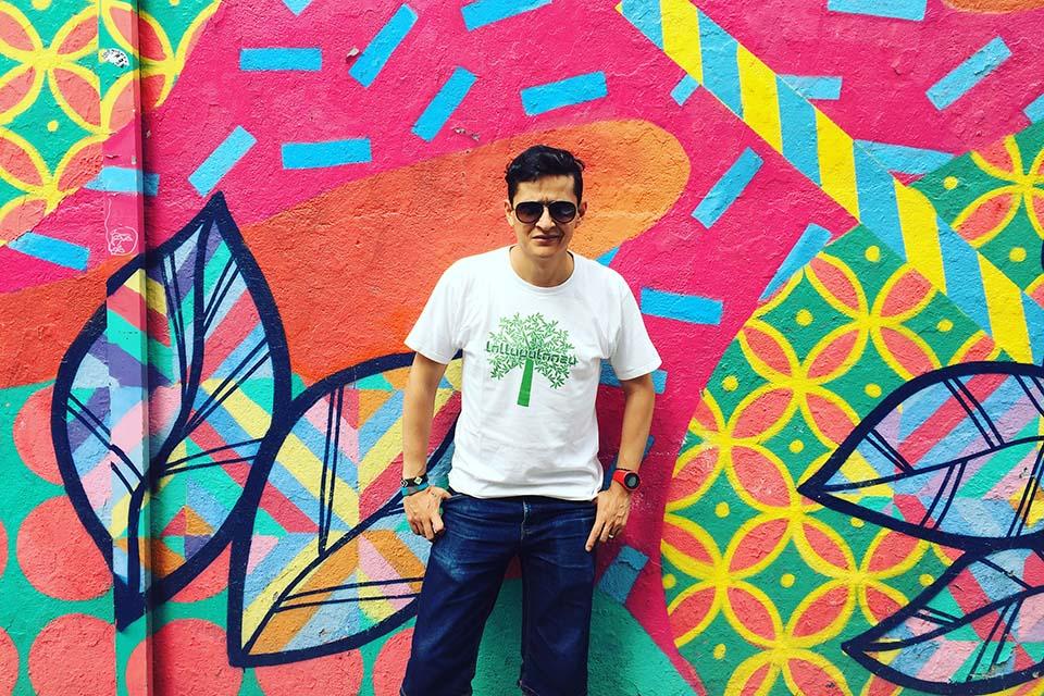 Gerzu es un amante del graffiti 100% clásico
