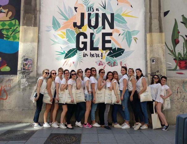 tour de arte urbano para despedida de soltera en madrid