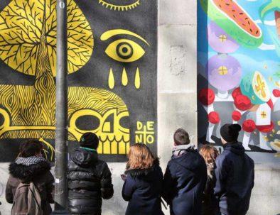 Visita guiada de arte urbano en Lavapiés