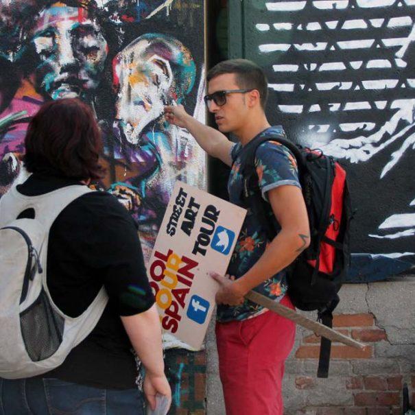 ruta de arte callejero malasaña