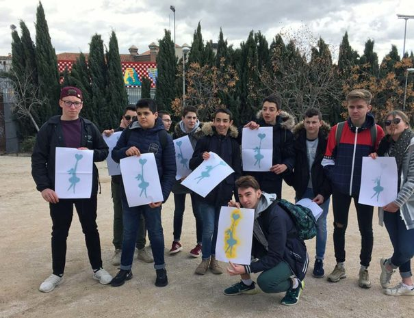 Estudiantes aprendiendo español en Madrid