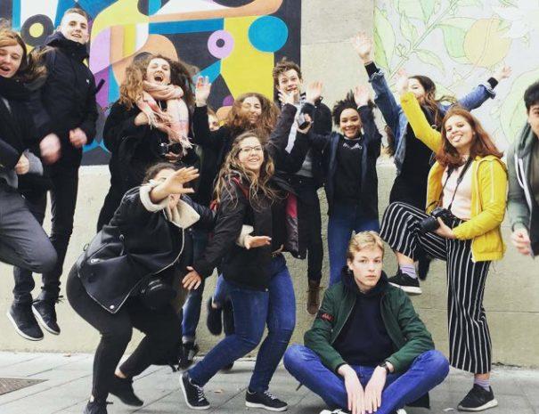 Visitas guiadas de graffiti para grupos escolares