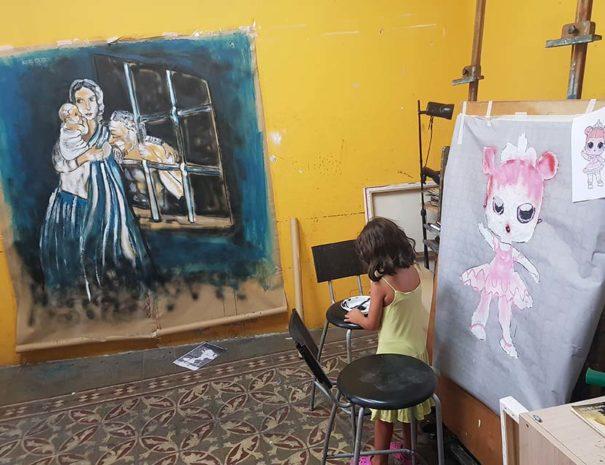 taller de arte para niños madrid