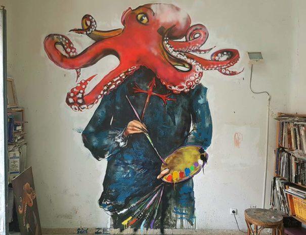 Resultado del taller de arte urbano
