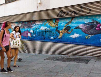 "Mural ""Ni una menos"""