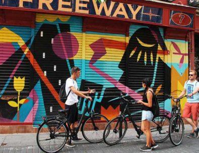 Visitas guiadas en Madrid con bicis modernas