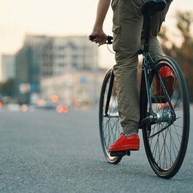 Participante en nuestro tour de arte urbano en bici por Madrid