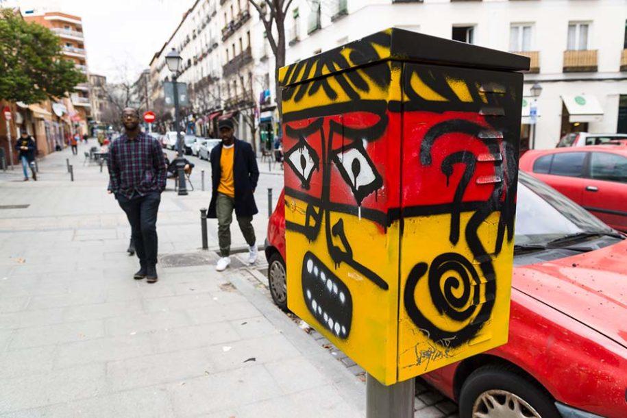 Recorrido de arte urbano por Lavapies, Madrid