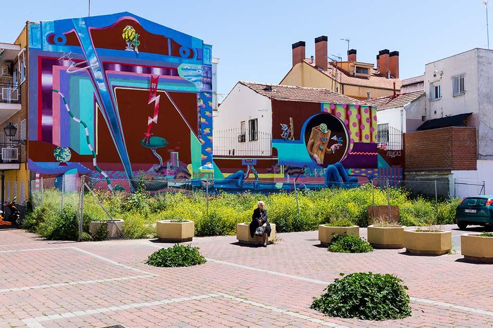 Arte urbano Vallecas