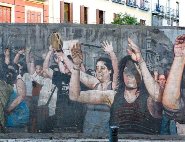 Tour feminista en Madrid centro
