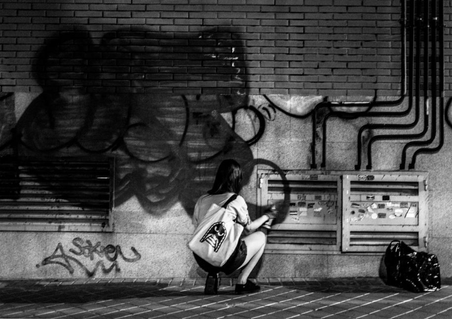 mensajes del graffiti en madrid