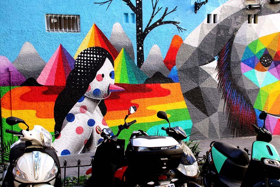 Tour alternativo en Madrid por calle Embajadores