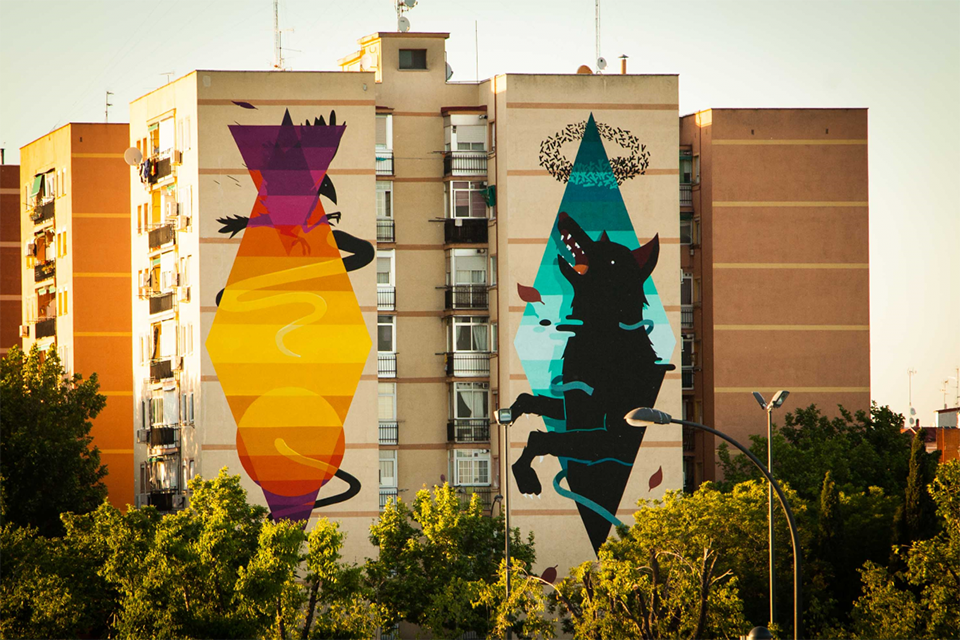 Murales de arte urbano