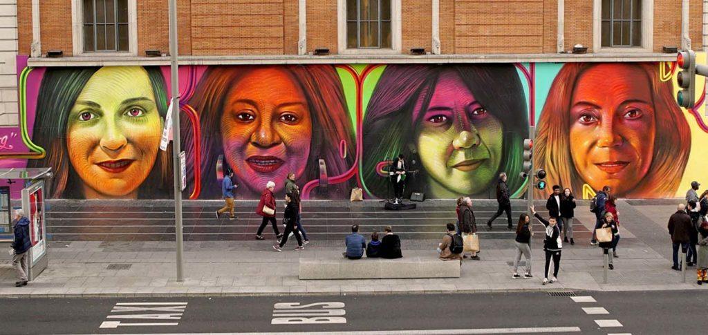 El primer tour feminista por Madrid