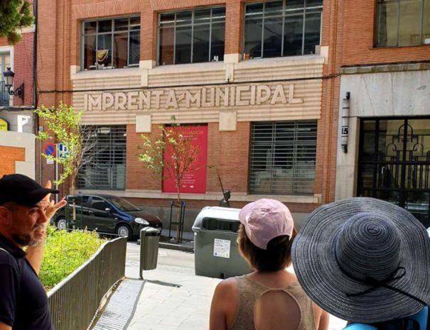 Visita guiada a la imprenta municipal Madrid