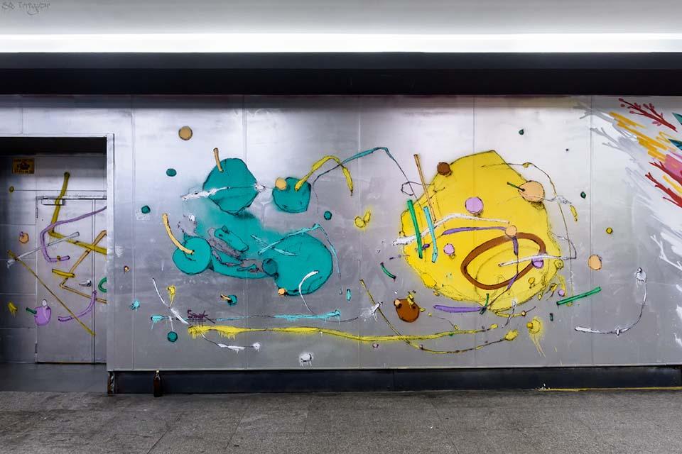 Sonek, festival arte urbano Arte al Cubo