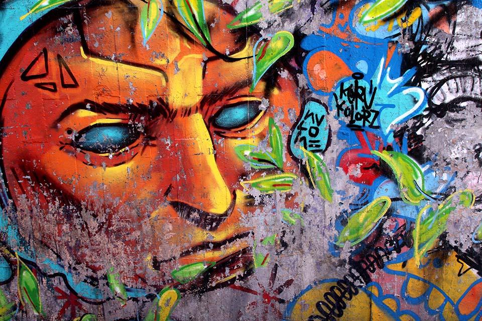 información turística de arte urbano en Madrid