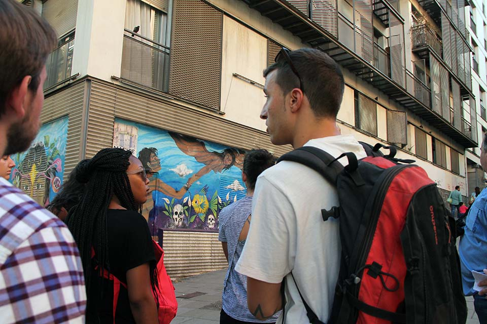tour arte urbano Madrid Lavapies