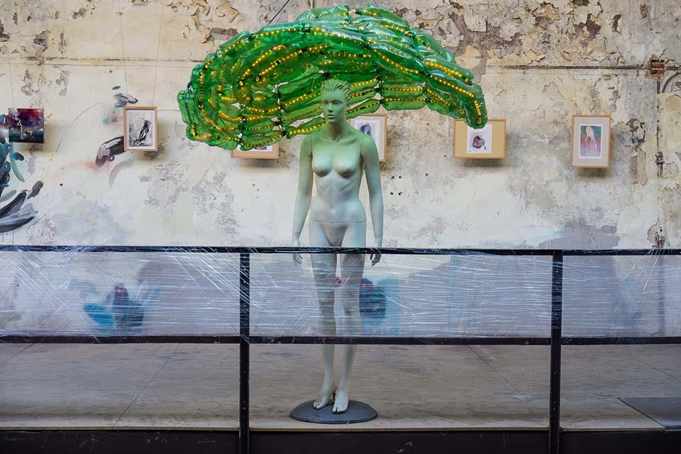 La Neomudejar es un museo alternativo de arte contemporaneo en Madrid
