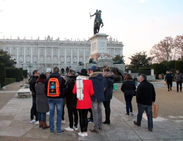 Visita guiada Palacio Real Madrid