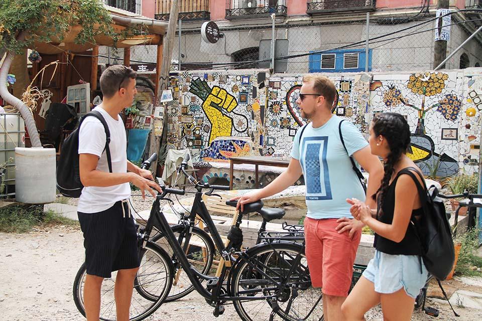 visitas guiadas culturales en bici por Madrid