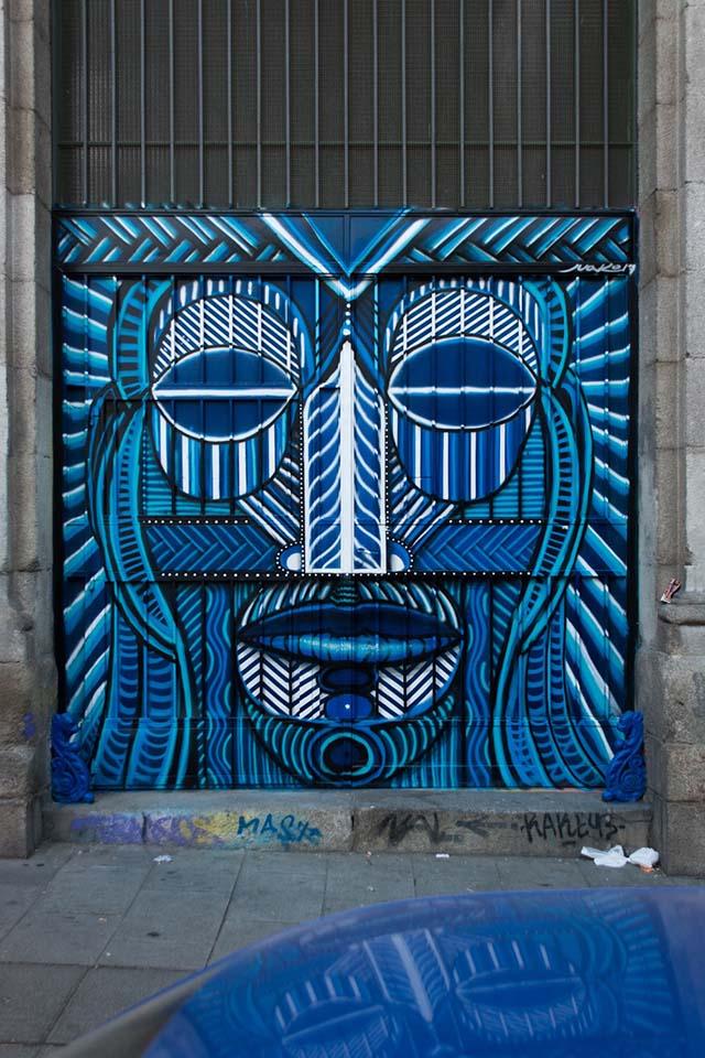 proyectos de arte urbano en Madrid en el interior de la Tabacalera