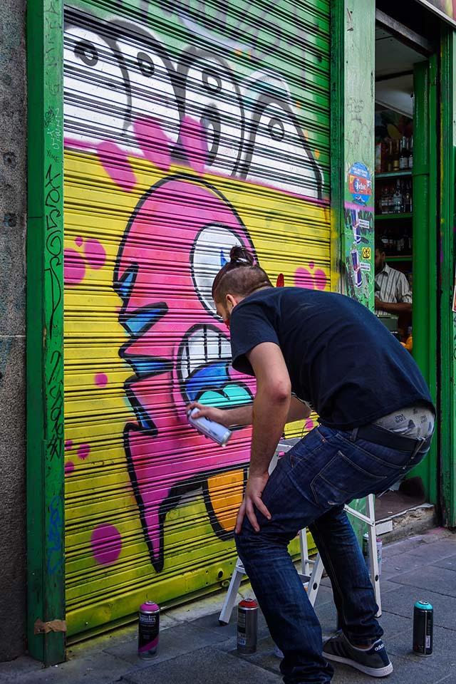 Festival de arte urbano en Madrid, PINTA Malasaña