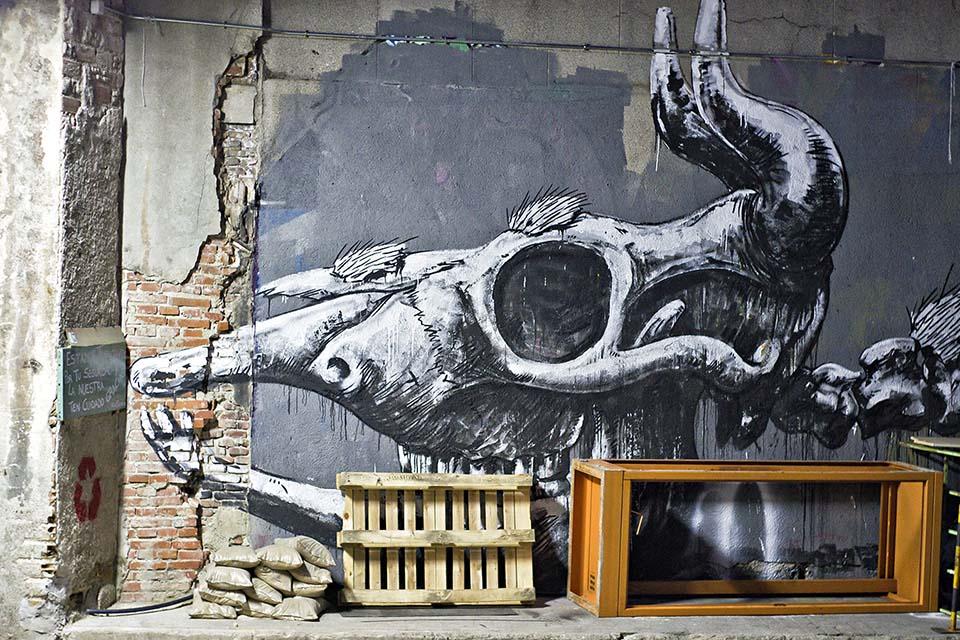 proyectos arte urbano Madrid, La Tabacalera