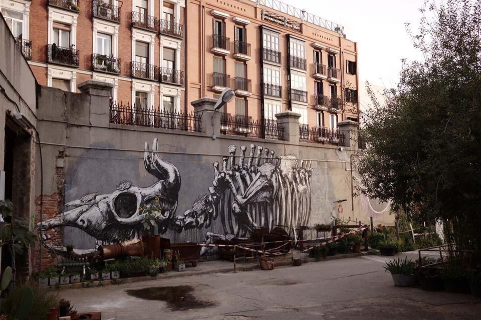 TUrismo alternativo en el centro de Madrid