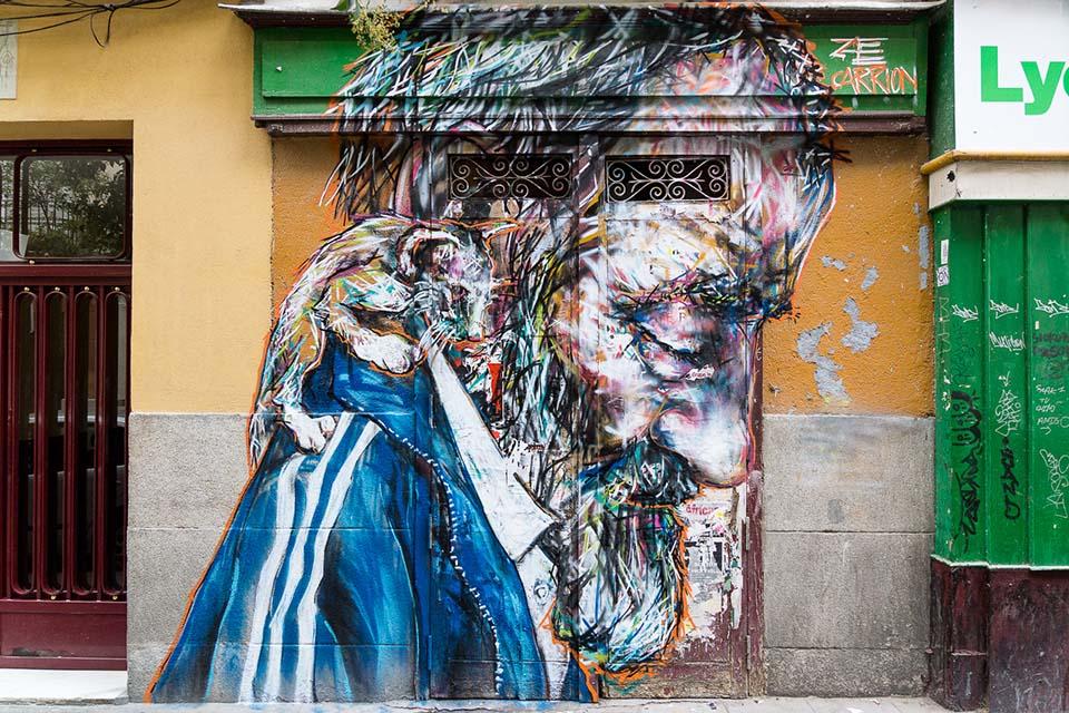 za carrion madrid arte urbano