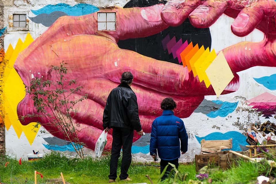 visitas guiadas de arte urbano y graffiti