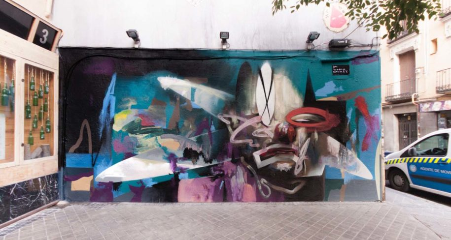 arte urbano madrid covid19