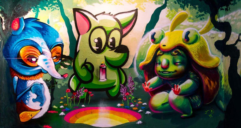 museo arte urbano Madrid, España