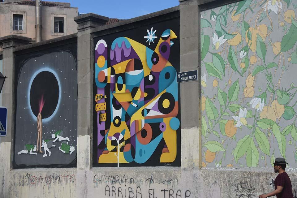 Tabacalera, museo de arte urbano en Madrid