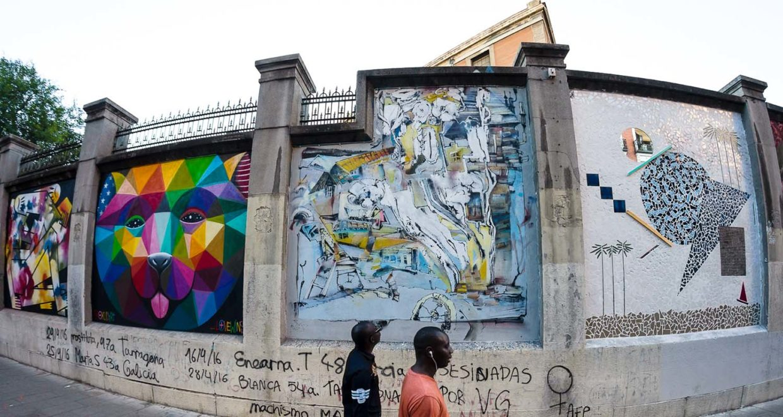 proyectos de arte urbano en Madrid 2020