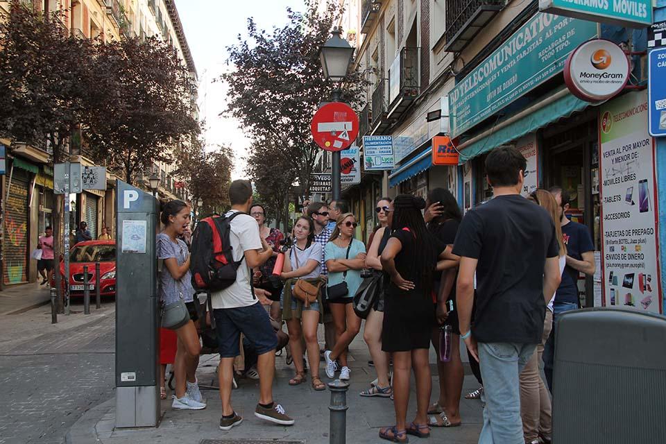 rutas turisticas grupo madrid