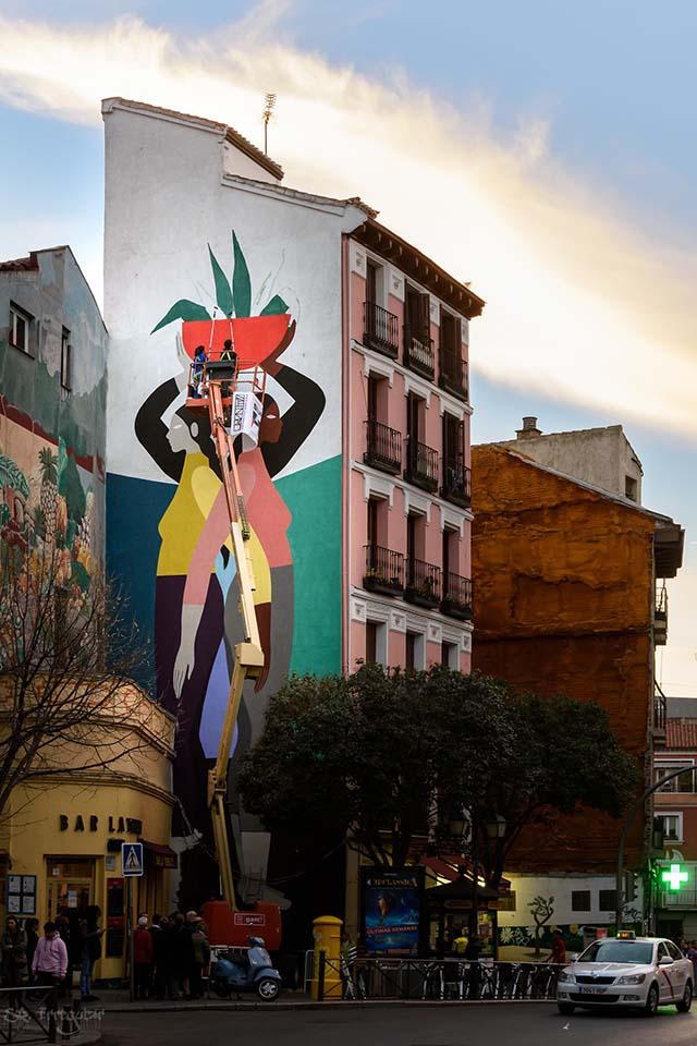 Foto de Oscar Guerra del festival Urvanity Art Madrid