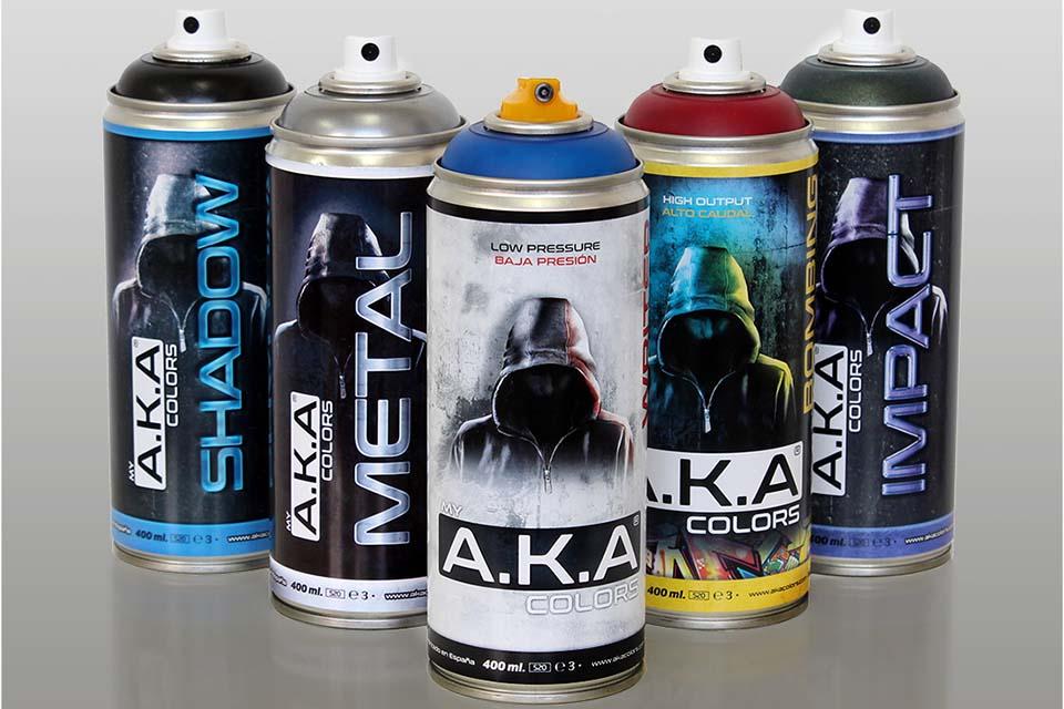 tienda de graffiti online AKA Colors