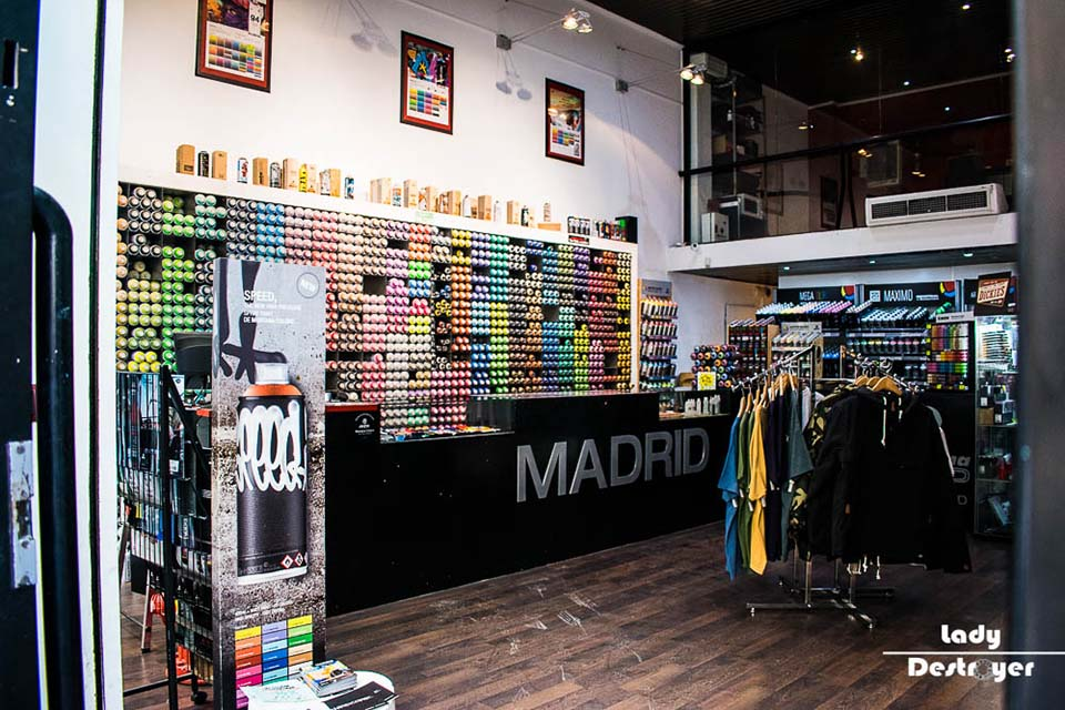 Montana shop madrid