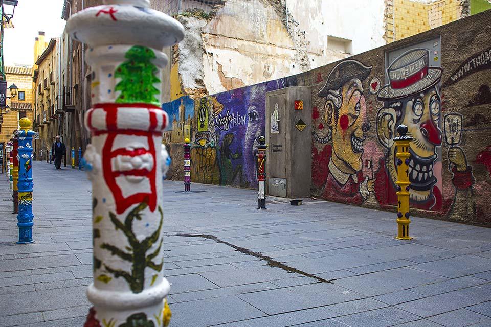 Graffiti y arte urbano Tarragona