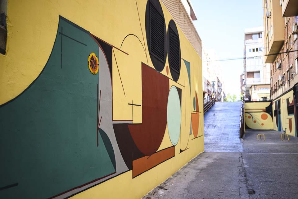 artistas de graffiti zaragoza