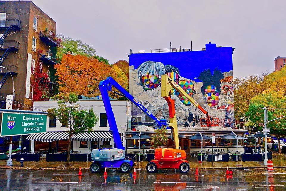 artistas ilustres de arte callejero