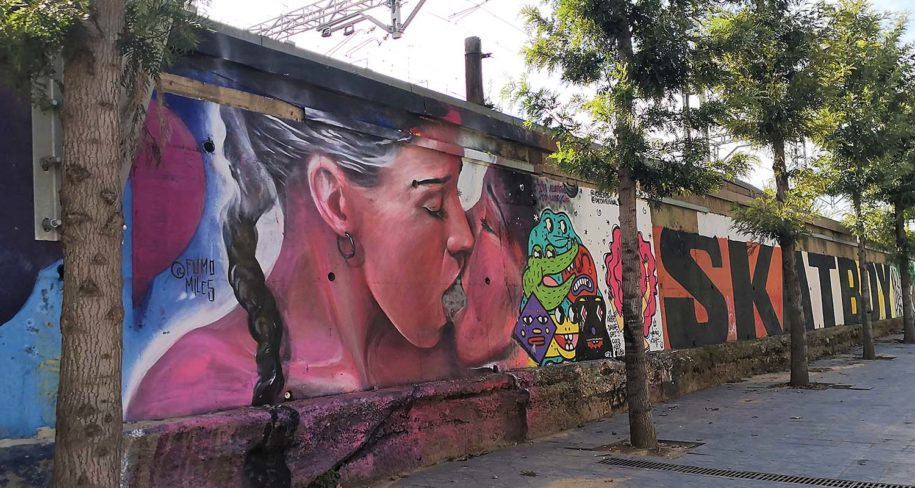 arte urbano Tarragona 2020