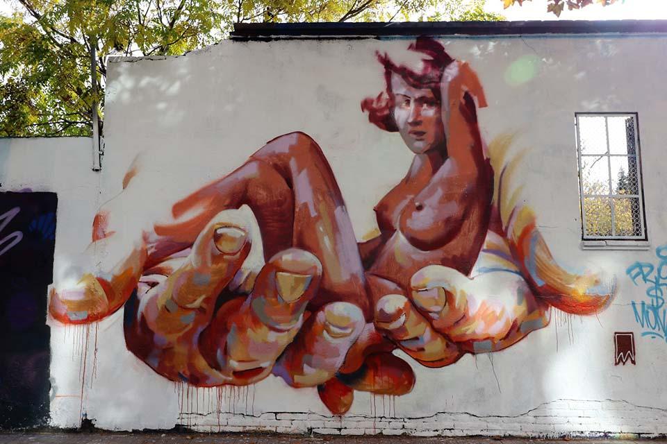 arte callejero en Barcelona