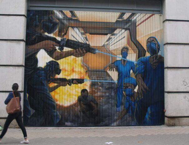 pintura mural graffiti