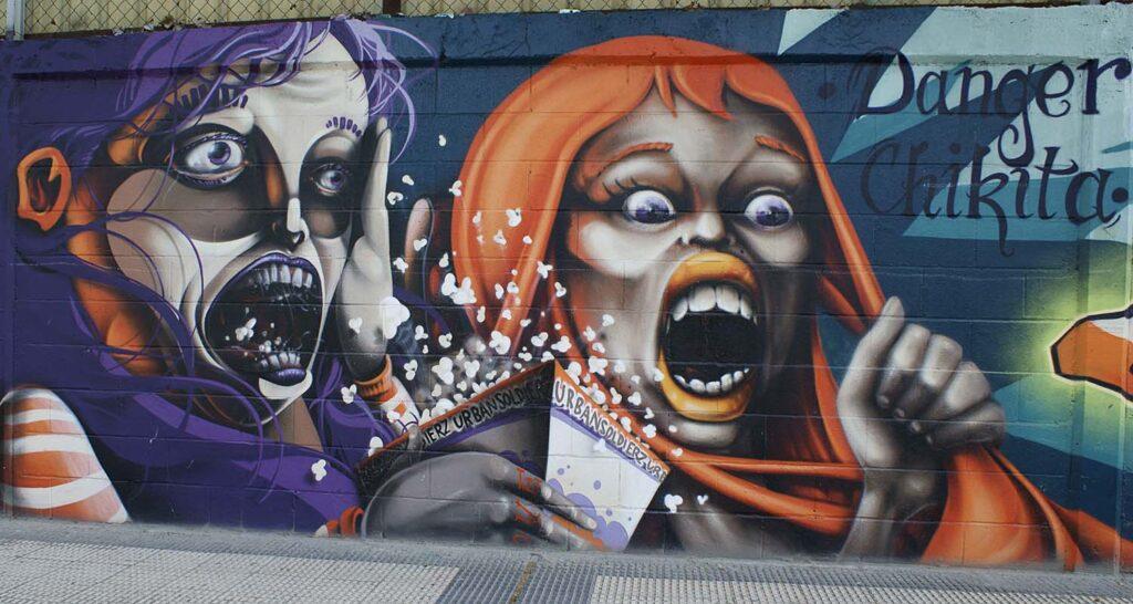 artistas de graffiti zaragozanos