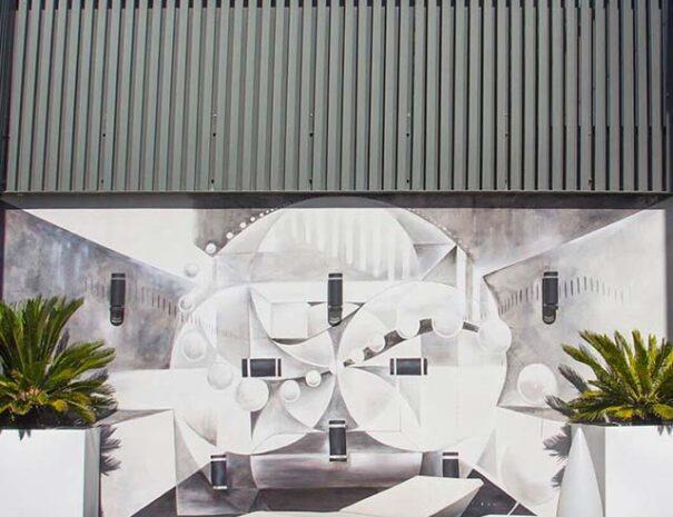 murales decorativos para exteriores